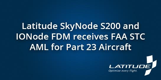 SkyNode S200 FAA STC AML