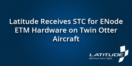 ENode STC Latitude News Banner